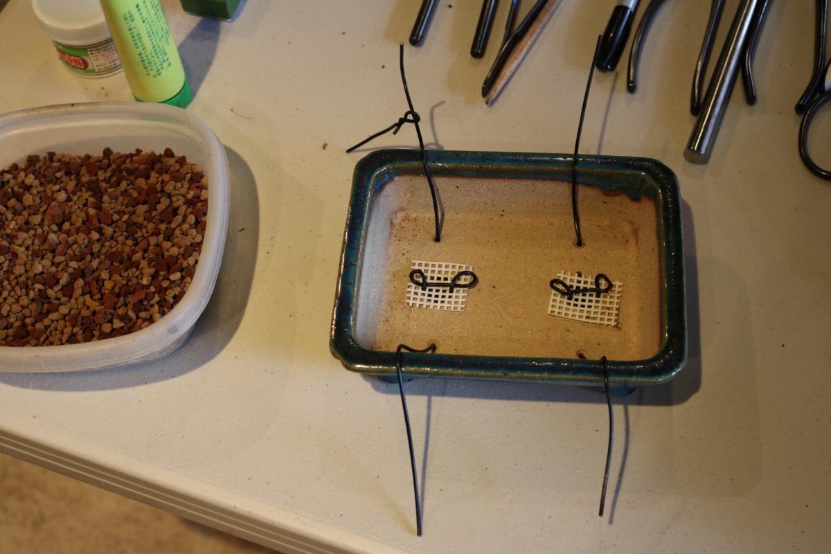 Preparing a pot